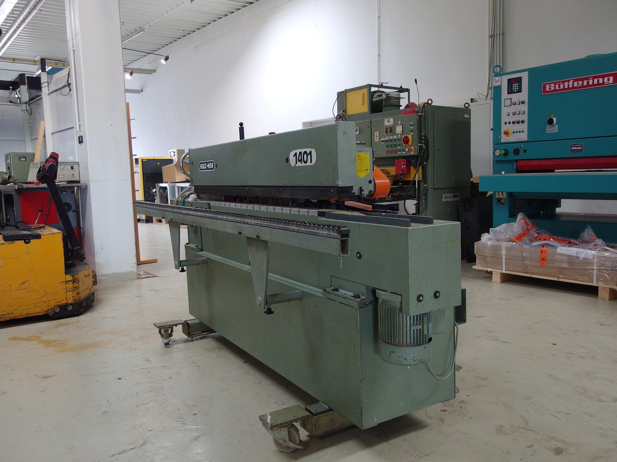 Kantenanleimmaschine Holz Her 1401 – Maschinenzentrum Schack